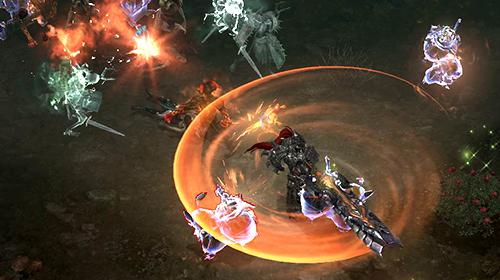 Batalla dentro de los Dungeons de Lost Ark Online.