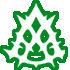 Logo en negro de la clase Hunter en Lost Ark Online