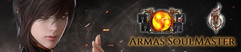 Detalle de las armas utilizadas por la sublcase SoulMaster.