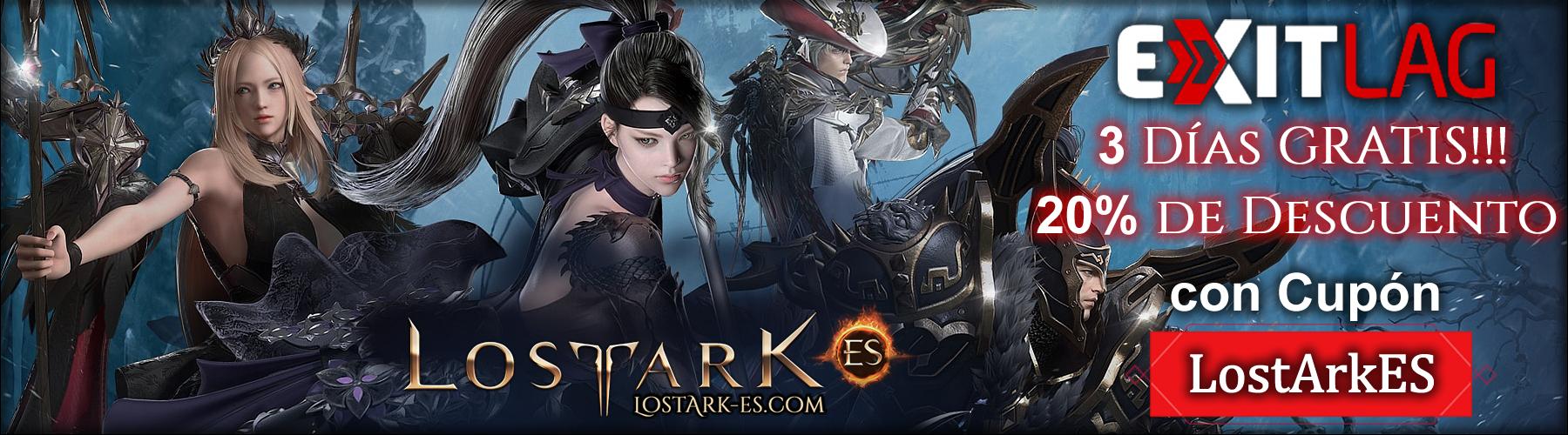 Lost Ark ES Cupon Exitlag Descuento